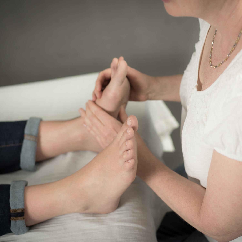 Hvad kan zoneterapi helbrede?