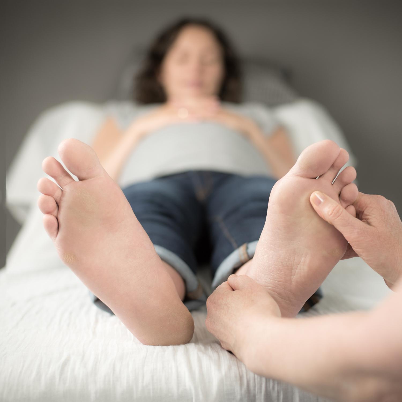 Zoneterapi gravid igangsættelse